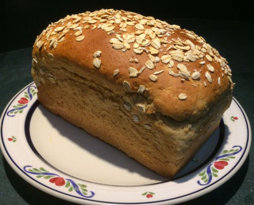 Honey-oat-loaf